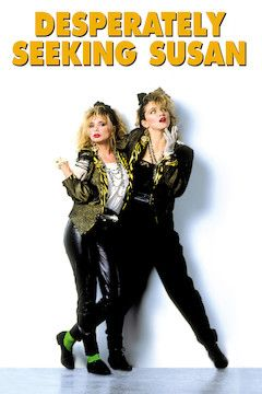 Desperately Seeking Susan movie poster.