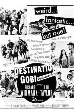 Destination Gobi movie poster.