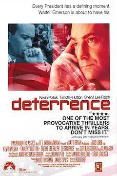 Deterrence movie poster.