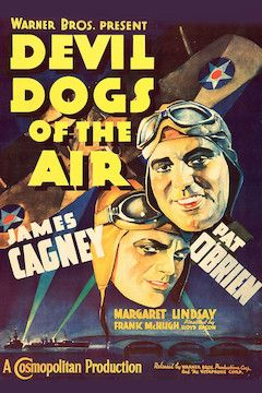 Devil Dogs of the Air movie poster.