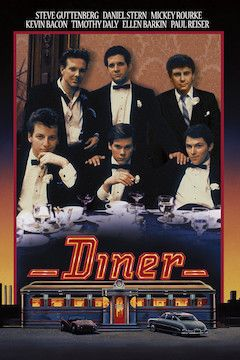 Poster for the movie Diner