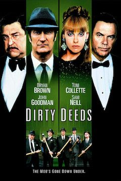 Dirty Deeds movie poster.