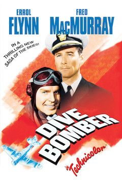 Dive Bomber movie poster.