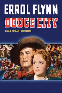 Dodge City movie poster.