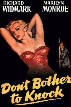 Don't Bother to Knock movie poster.