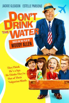 Don't Drink the Water movie poster.