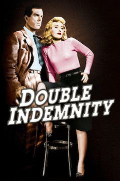 Double Indemnity movie poster.