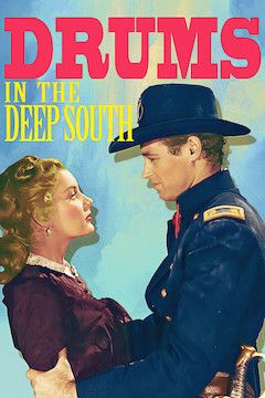 Drums in the Deep South movie poster.