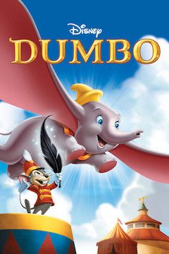 Dumbo movie poster.