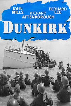Dunkirk movie poster.