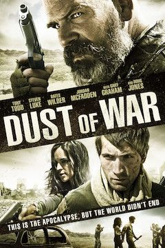 Dust of War movie poster.