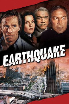 Earthquake movie poster.
