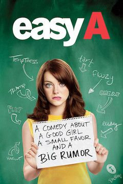 Easy A movie poster.