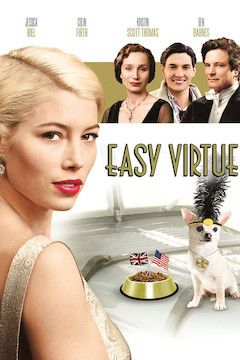 Easy Virtue movie poster.