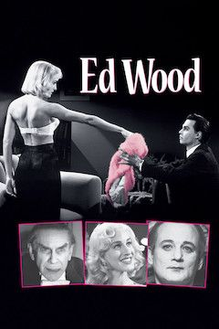 Ed Wood movie poster.
