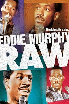Eddie Murphy: Raw movie poster.