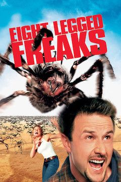 Poster for the movie Eight Legged Freaks