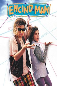 Encino Man movie poster.