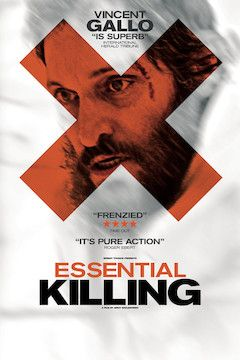 Essential Killing movie poster.