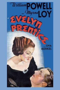 Evelyn Prentice movie poster.