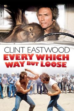 Every Which Way But Loose movie poster.