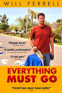 Everything Must Go movie poster.