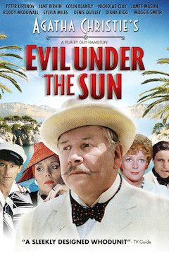 Poster for the movie Evil Under the Sun