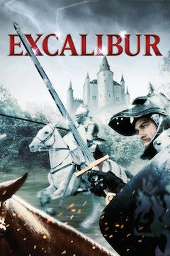 Excalibur movie poster.