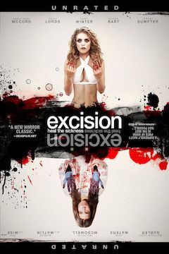 Excision movie poster.