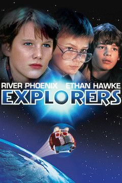 Explorers movie poster.