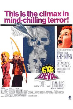 Eye of the Devil movie poster.