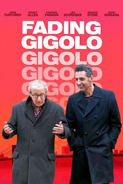 Fading Gigolo movie poster.