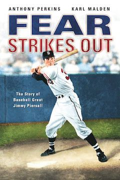 Fear Strikes Out movie poster.