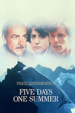 Five Days One Summer movie poster.
