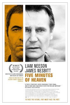 Five Minutes of Heaven movie poster.