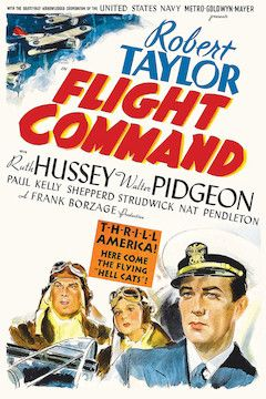 Flight Command movie poster.