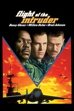 Flight of the Intruder movie poster.