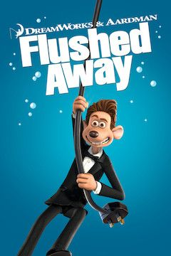 Flushed Away movie poster.