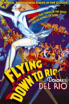 Flying Down to Rio movie poster.