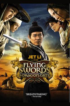 Flying Swords of Dragon Gate movie poster.