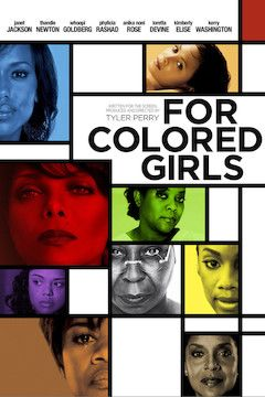 For Colored Girls movie poster.