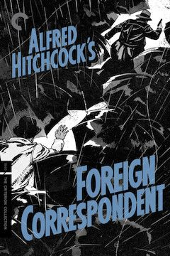 Foreign Correspondent movie poster.