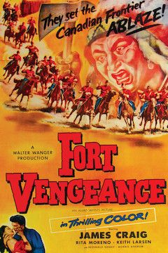 Fort Vengeance movie poster.