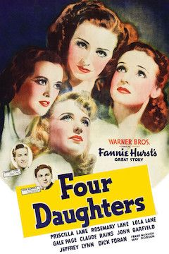 Four Daughters movie poster.