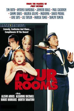 Four Rooms movie poster.