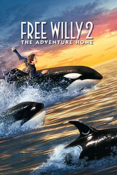 Free Willy 2: The Adventure Home movie poster.