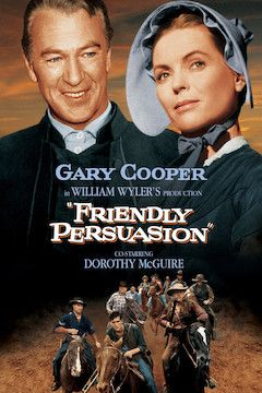 Friendly Persuasion movie poster.