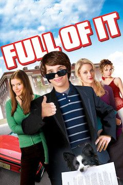 Full of It movie poster.