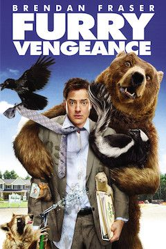Furry Vengeance movie poster.