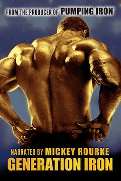 Generation Iron movie poster.